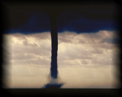 A waterspout is a good example of a process that acts very much like an object.